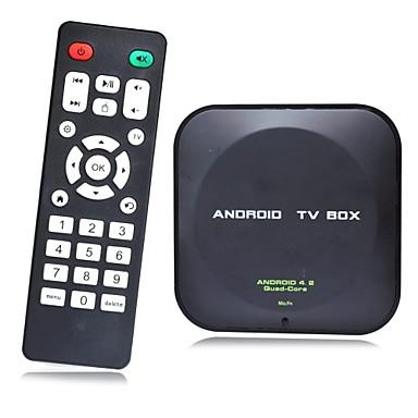 Dual Core Android TV Box Cortex A9 WiFi Remote Control(ROM 8GB RAM