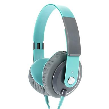 EP12 Fashionable 3.5 mm On-ear Headphone Headset with Mic (Green)