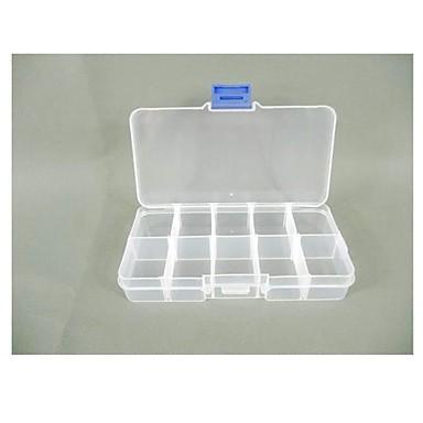 Schmuck Aufbewahrungsbox Handwerk Veranstalter Perlen multifunktionale 10 Grid Schmuck Aufbewahrungsbox