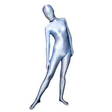 Zentai Anzüge Ninja Zentai Kostüme Cosplay Kostüme Blau Solide Gymnastikanzug / Einteiler Zentai Kostüme Elasthan Lycra Herrn Damen
