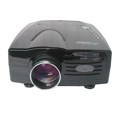 XP528 LCD 홈 씨어터 프로젝터 LED 프로젝터 1800 lm 지원하다 1080P (1920x1080) / 720P (1280x720) 40
