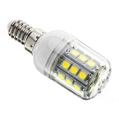 3W E14 Becuri LED Corn T 27 led-uri SMD 5050 Intensitate Luminoasă Reglabilă Alb Rece 350-400lm 6000-6500K AC 220-240V