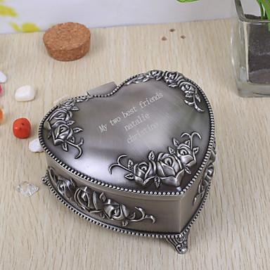 Geschenke Brautjungferngeschenk personalisierte vintage herzförmigen Schmuckschatulle tutania