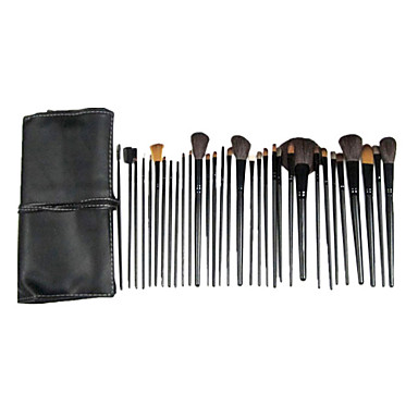32pcs Professional Makeup Bürsten Bürsten-Satz- Sonstige Pinsel / Pferde / Andere Auge / 14 * Lidschattenpinsel / 2 * Schwamm Applikator