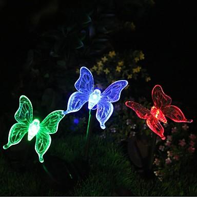 sol farve skiftende sommerfugl haven indsats lys høj kvalitet
