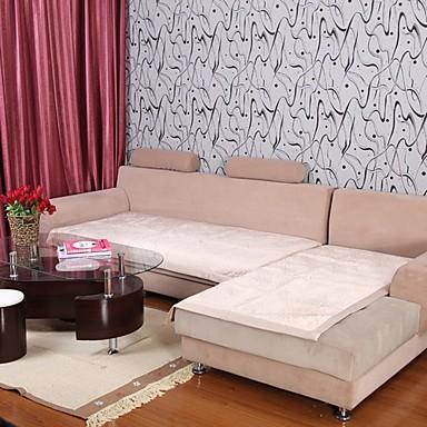 pluș Elaine scurt model bordure lotus canapea pernă bej 333561