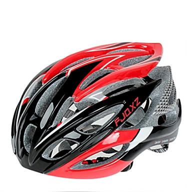 FJQXZ Pentru femei Bărbați Unisex Bicicletă Cască 26 Găuri de Ventilaţie Ciclism Ciclism stradal Ciclism Mediu: 55-59cm; Mare: 59-63cm;