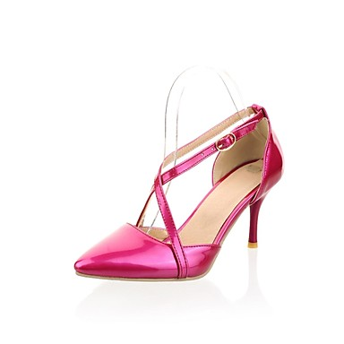 Women's Spring / Summer / Fall Heels Patent Leather Dress Stiletto Heel Buckle