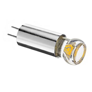 1.5W 120-150 lm G4 LED Spot Lampen 1 Leds COB Warmes Weiß Kühles Weiß DC 12V
