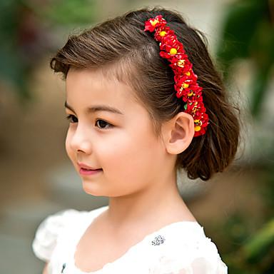 abordables Bijoux de Cheveux-Femme Jeune bouquetière Papier Casque-Mariage Occasion spéciale Serre-tête Fleurs