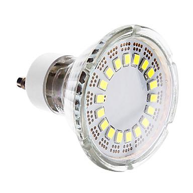 GU10 LED reflektori 18 LED diode SMD 2835 Hladno bijelo 190-220lm 6000-7000K AC 220-240V