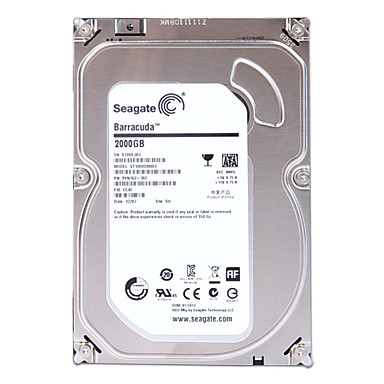 Seagate 2TB Desktop Hard Disk Drive 7200rpm SATA 3.0(6Gb/s) 64MB Cache 3.5 inch-ST2000DM001