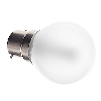 2.5W 90-120 lm B22 Круглые LED лампы G45 25 светодиоды SMD 3014 Декоративная Тёплый белый Холодный белый AC 220-240V