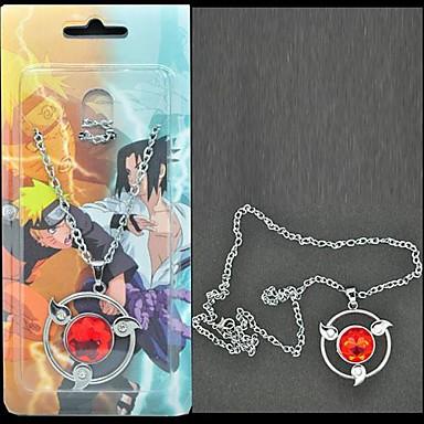 Schmuck Inspiriert von Naruto Sasuke Uchiha Anime Cosplay Accessoires Halsketten Aleación Herrn neu / heiß Halloween Kostüme