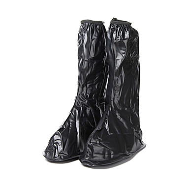 abordables Accessoires pour Chaussures-PVC Couvre-chaussures Homme Printemps / Eté / Automne Décontracté Noir