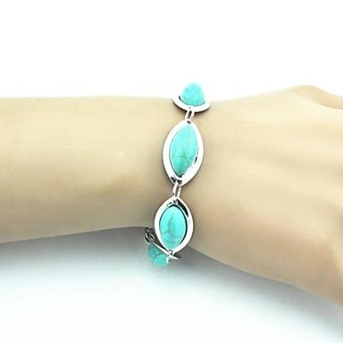 Dames Vintage Armbanden Turkoois Legering Sieraden Voor Feest Dagelijks