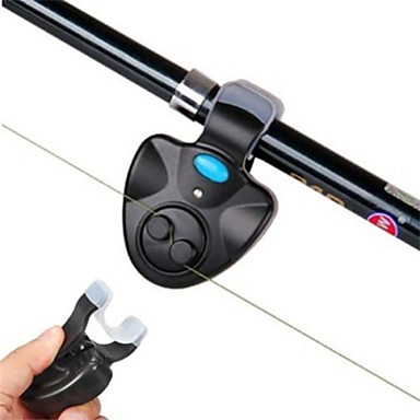 cheap Fishing Rods-Fishing Bite Alarm Detector For Fishing Rod / Portable / Alarm Freshwater Fishing / Carp Fishing / General Fishing 1 pcs pcs / Universal / LED Light