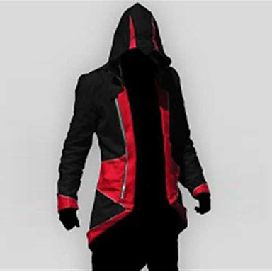 Inspired by Assassin Cosplay Video Game Cosplay Costumes Cosplay Suits Patchwork Long Sleeve Coat Costumes