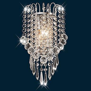 Inbouw wandlampen-Kristal-Hedendaags-Metaal
