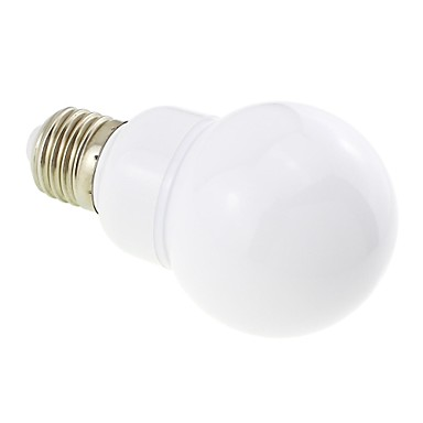 4W E26/E27 Bulb LED Glob G60 27 SMD 5730 400 lm Alb Cald AC 85-265 V