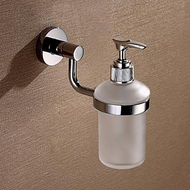 Soap Dispenser High Quality Contemporary Brass 1 pc - Hotel bath