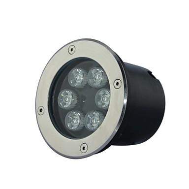 6 LED High Power Теплый / Pure / холодный белый Подземный свет AC85-265V