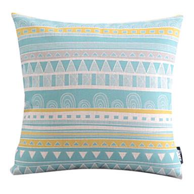 bavlněný / lněný povlak polštářů, geometrický moderní / současný venkovský styl