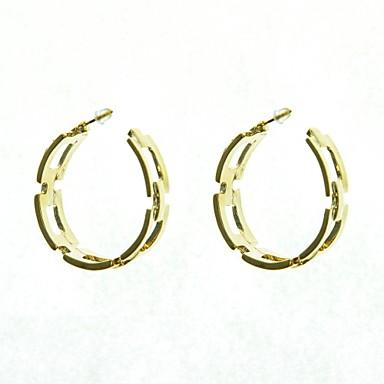 Серьги-кольца Сплав Бижутерия Свадьба Для вечеринок Повседневные