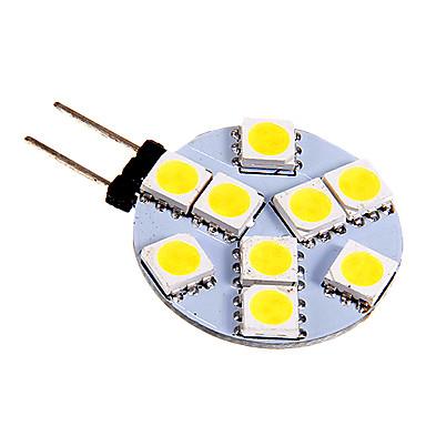 130-180 lm G4 LED-lamper med G-sokkel 9 leds SMD 5050 Kold hvid DC 12V
