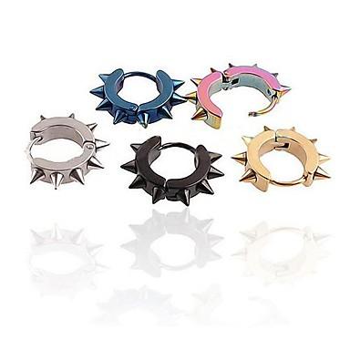 voordelige Herensieraden-Heren Ring oorbellen Roestvast staal oorbellen Sieraden Voor Bruiloft Feest Dagelijks Causaal Sport