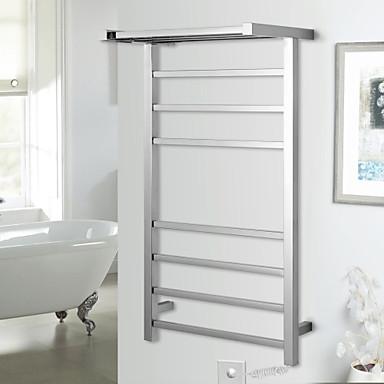 Håndklædestang Høj kvalitet Moderne Rustfrit Stål 1 stk - Hotel bad Håndklæde Varmer