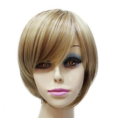 Syntetiske parykker Klassisk Høj kvalitet Massefylde Dame Syntetisk hår