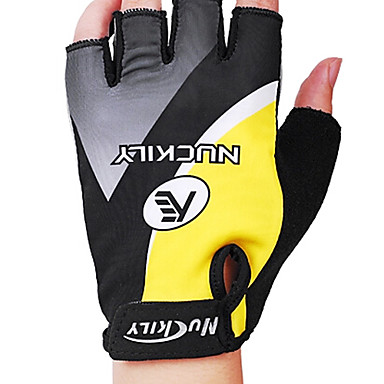 Nuckily Sports Gloves Bike Gloves / Cycling Gloves Wearable Breathable Wearproof Anti-skidding Protective Shockproof Fingerless Gloves