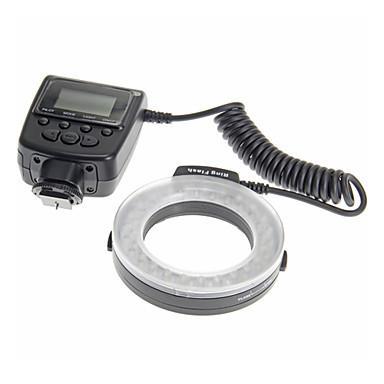 travor rf-550d marco řízené kruhové světlo pro fotografování s kamerou / videokamerou vedio