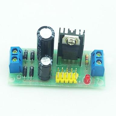 L7805 AC DC Voltage Stabilizer Regulator Module   Black