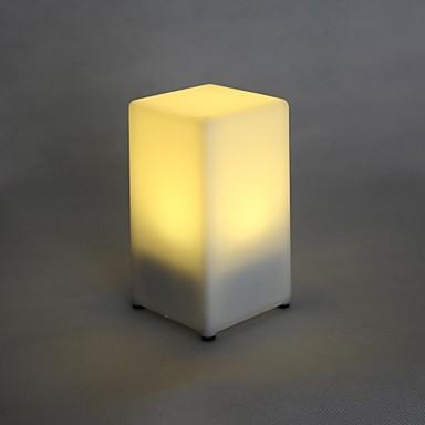 Masă cu LED-uri de lumină de culoare galbenă lampă reîncărcabilă Bar KTV de nunta sau de partid Cadouri de lumină în loc de lumânare