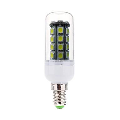 E14 LED-maïslampen Verzonken ombouw 36 leds SMD 5050 Decoratief Koel wit 450lm 6000-6500K AC 220-240V