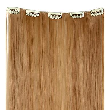 Haarverlängerungen Gute Qualität Glatt Klassisch Damen Alltag