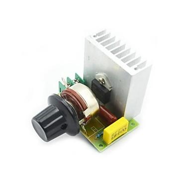 3800W Störungsbesuch-elektronischen Spannungsregler Dimmer Dimmer Geschwindigkeitsregelthermostat