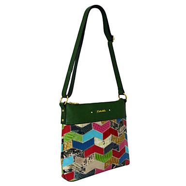 Pentru femei Genți Piele Vacă Umăr Bag pentru Casual Toate Sezoanele Verde Militar