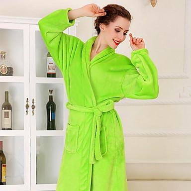 halat de baie, de înaltă clasă fructe halat de baie haină verde îngroșa