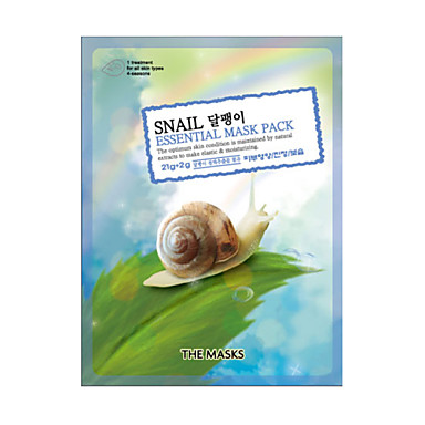 Maskerne Snail EssentialMask Pack