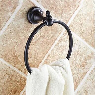 Handtuchhalter Gute Qualität Antike Messing 1 Stück - Hotelbad Handtuchring