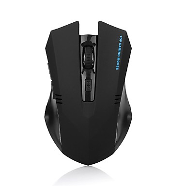 ergonomische 2,4 GHz Wireless-Gaming-optische Maus 1600dpi 6 Tasten