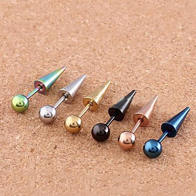 Ear Piercing Stainless Steel Ball Women's Body Jewelry For Daily / Casual
