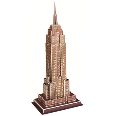 voordelige 3D-puzzels-3D-puzzels / Bouwplaat / Modelbouwsets Beroemd gebouw / Empire State Building DHZ Papier / EPS Geschenk