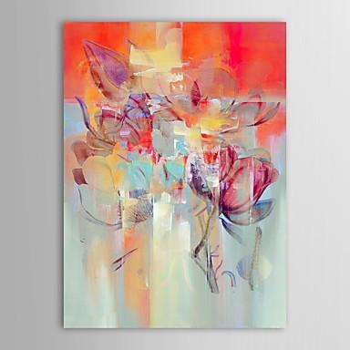 Hang-geschilderd olieverfschilderij Handgeschilderde - Abstract Hedendaags Kangas