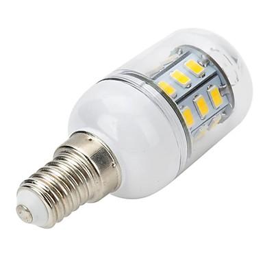 300-400 lm E14 LED Spot Lampen LED Mais-Birnen LED Kugelbirnen T 27 Leds SMD 5730 Warmes Weiß Wechselstrom 220-240V