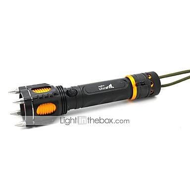 Belysning LED Lommelygter / Lommelygter LED 1000 Lumens 5 Tilstand Cree XM-L T6 18650Justerbart Fokus / Vanntett / Genopladelig /