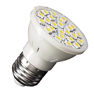 3W GU10 / E26/E27 Żarówki punktowe LED MR16 24 SMD 5050 210-240 lm Ciepła biel / Zimna biel AC 220-240 V